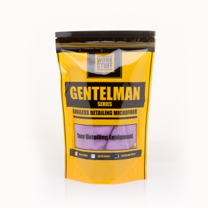 WORK STUFF Gentleman Basic Purple 350gsm 40x40cm Mikrofibra Bezszwowa Fioletowa